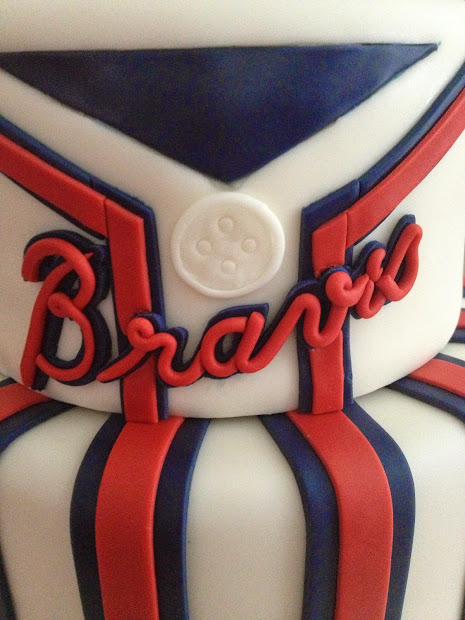 20 Atlanta Braves Sheet Cake Pictures And Ideas On Meta Networks