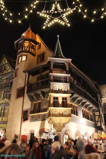 Rue des Marchands, Alsàcia, França, Mercats de Nadal a Colmar