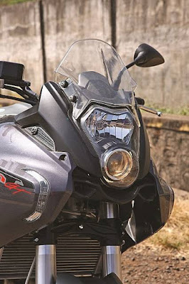 Benelli TNT 600 GT projector light 2