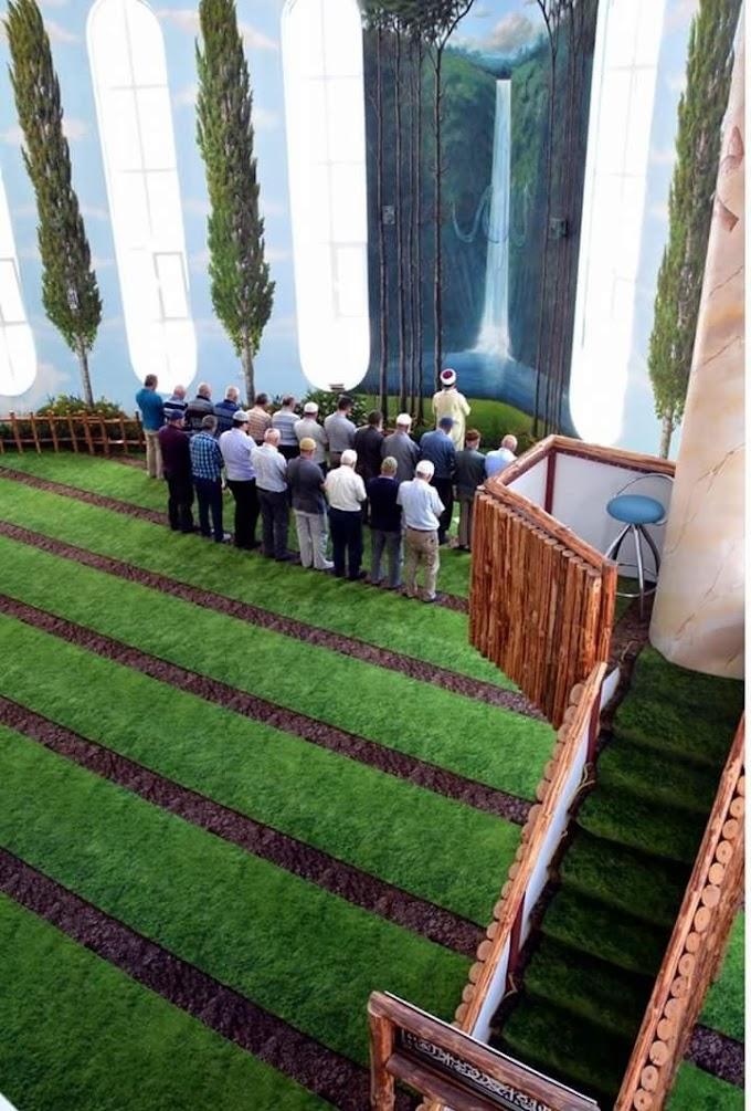 Cantiknya Interior Design Masjid Hamidiye Camii, Turkey! ~ Wordless Wednesday