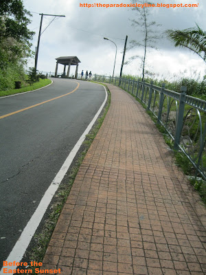 People's Park Tagaytay - road