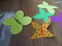 Construction Paper Butterflies