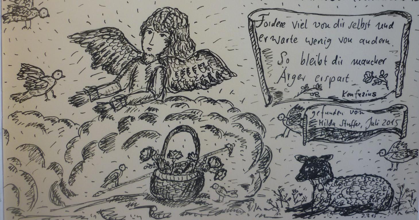 Dorikult Einfach Zeichnen Wie Die Feder Es Möchte Und Dabei Tief
