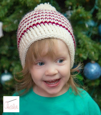 Winter's Bliss Beanie unisex crochet hat pattern