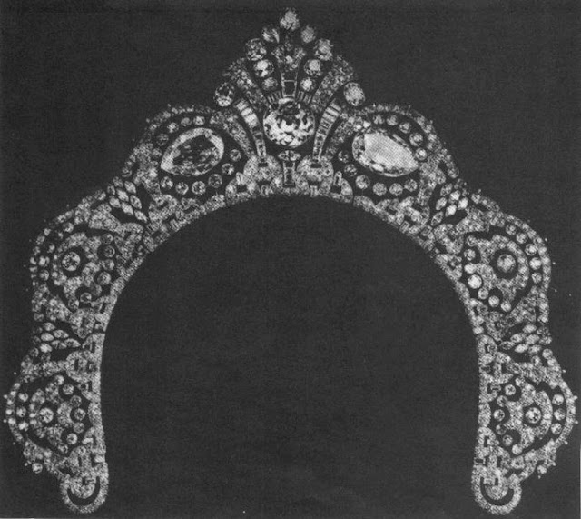 westminster halo diamond tiara lacloche grosvensor arcot