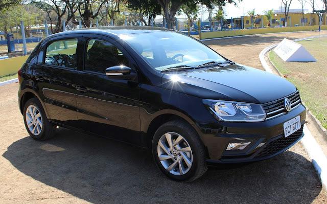 Novo VW Gol 2019 Automático - preto