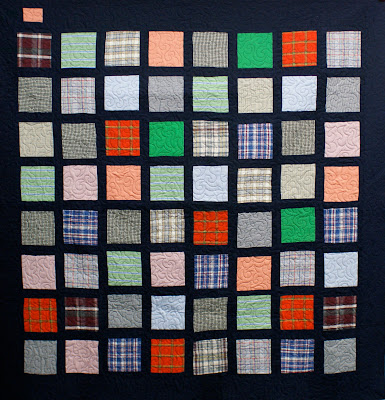 memory quilt from old clothes