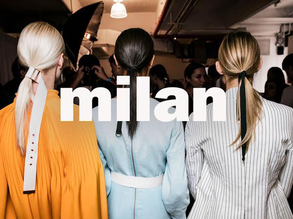 Top Milan Fashion Week Trends