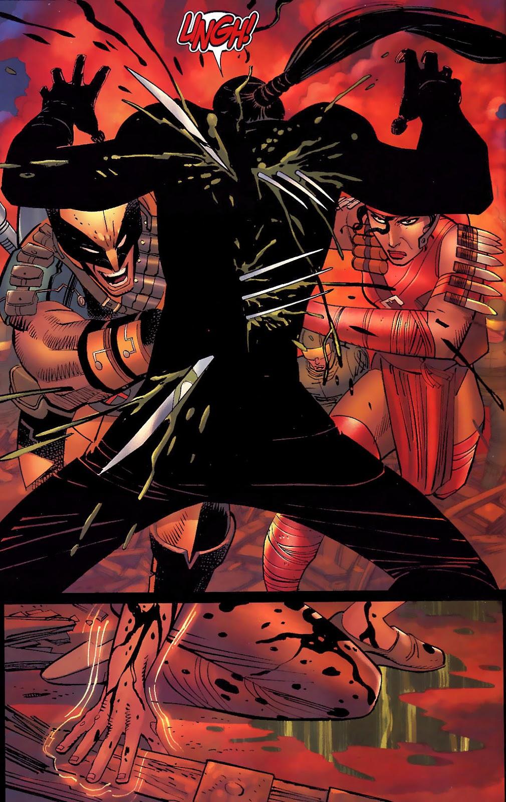 Read online Wolverine (2003) comic -  Issue #30 - 16