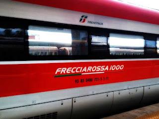 Frecciarossa, trem rápido de Roma para várias cidades