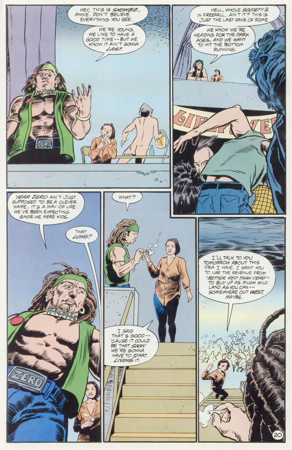 Read online Animal Man (1988) comic -  Issue #74 - 21