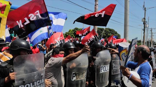 "Nicaragua perdió $ 1180 millones por ""terrorismo golpista"" de EEUU"