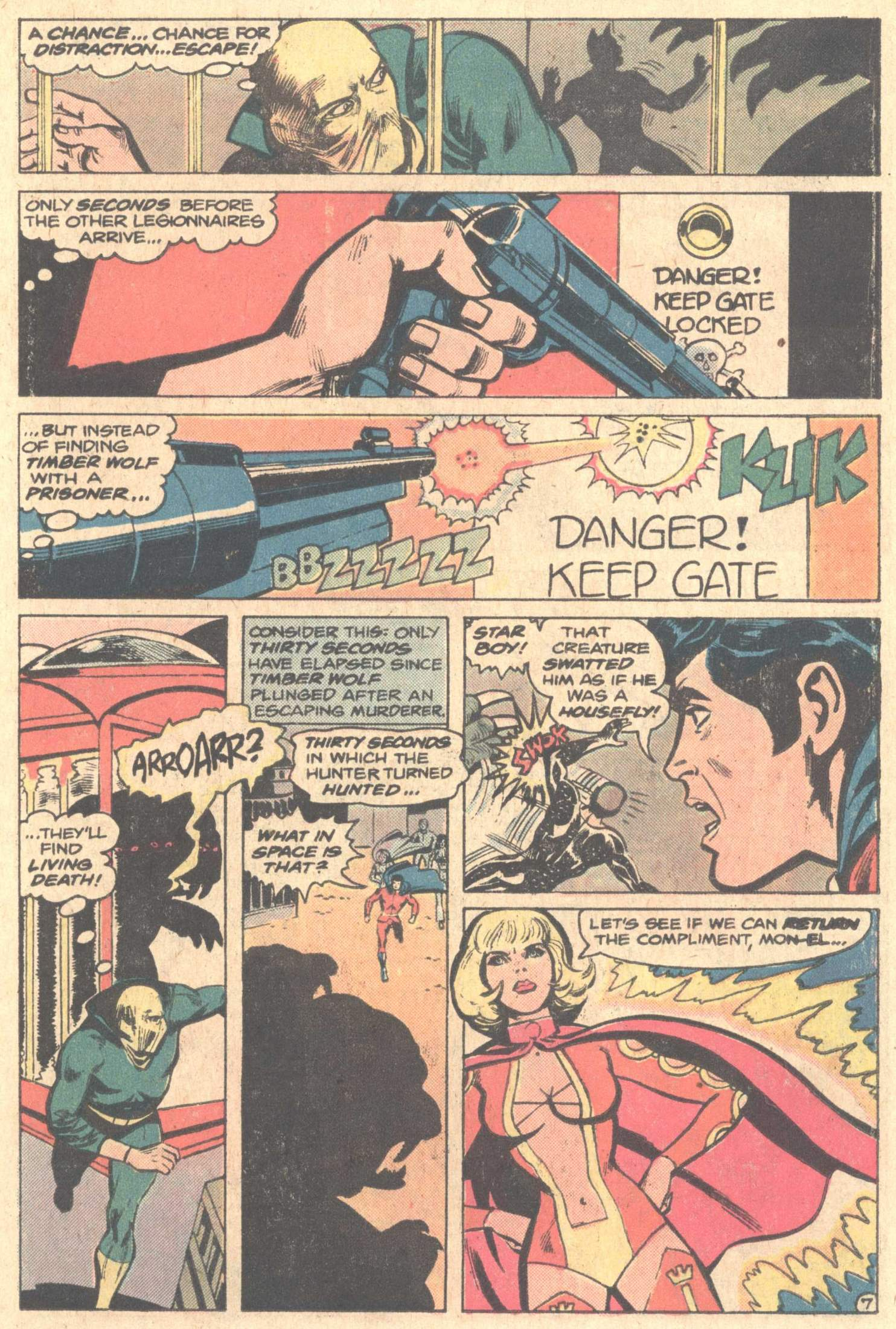 Legion of Super-Heroes (1980) 261 Page 10