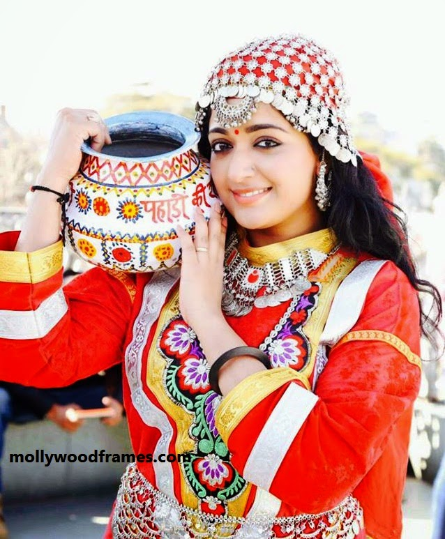 Kavya Madhavan in Kashmiri look for 'She Taxi'