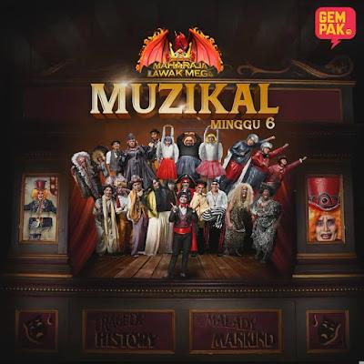 Maharaja Lawak Mega 2018 Minggu 6 (7.12.2018)