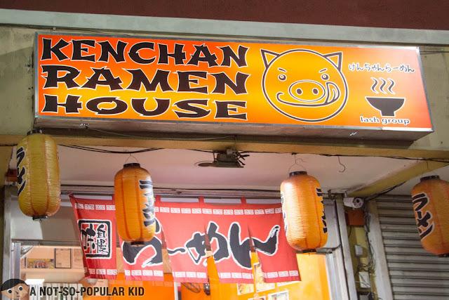 Kenchan Ramen House in Talon, Las Piñas