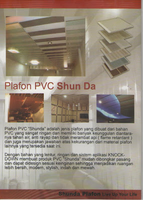 SHUNDA PLAFON PVC  SHUNDA PLAFON PVC