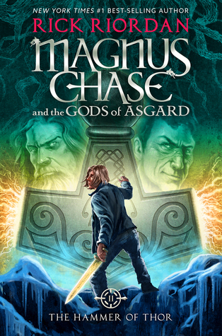 the hammer of thor rick riordan magnus chase and the gods of asgard cover