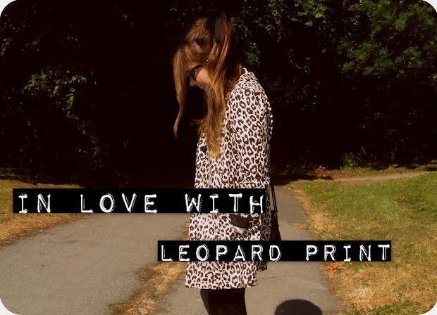 Paloma In Disguise Love Leopard Print