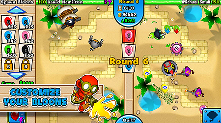 rated tower defense franchise in this all new head Bloons TD Battles MOD Apk (Mega Mod) v3.5.0 Android
