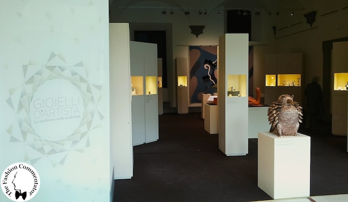 Allestimento Mostra Gioielli d'artista Firenze