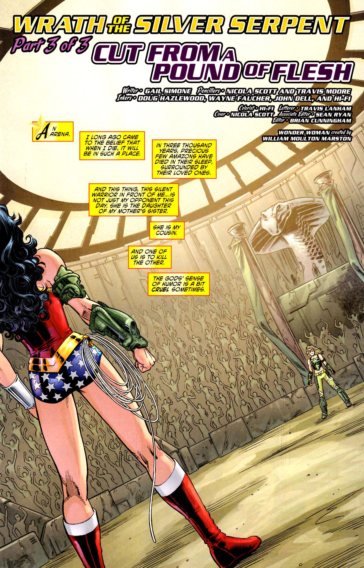 Read online Wonder Woman (2006) comic -  Issue #44 - 2