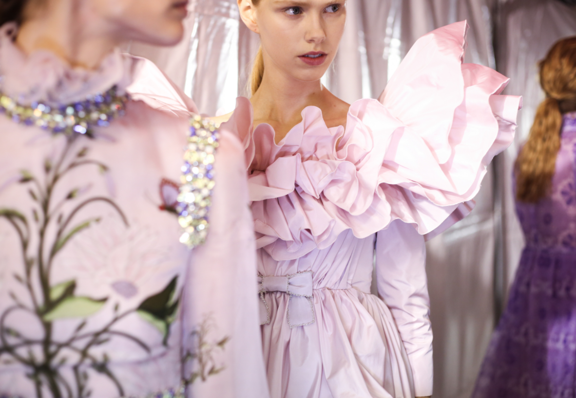 Giambattista Valli Couture Spring 2017 Backstage {Cool Chic Style Fashion}