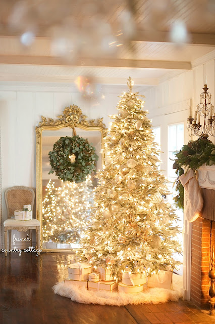 All through the house- 12 of my favorite Christmas Trees
