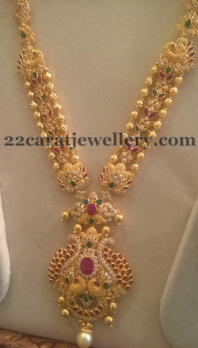 Trendy Cz Sets By Sri Mahalaxmi Jewellers Jewellery Designs