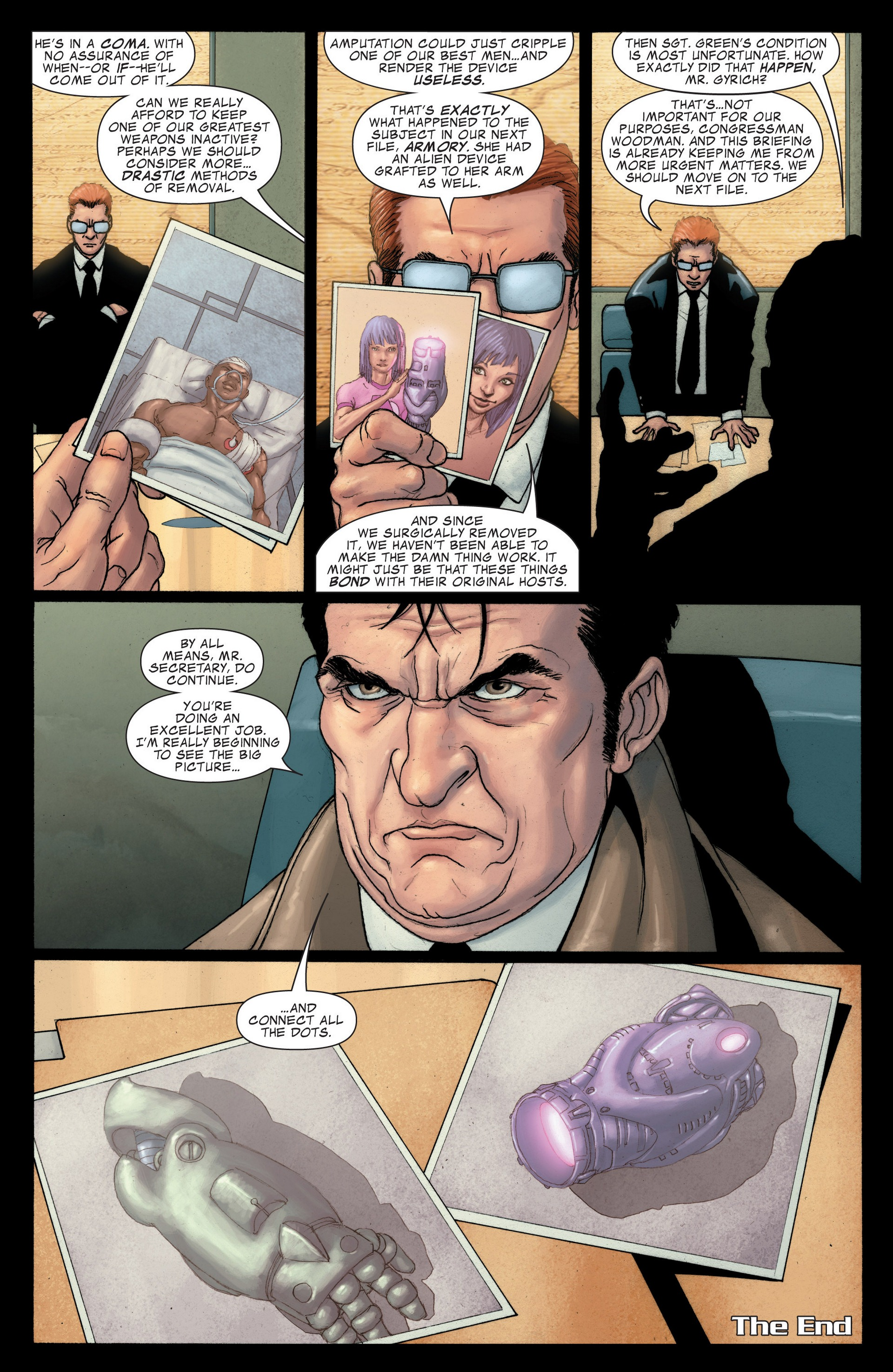 Read online Secret Invasion: The Infiltration comic -  Issue #4 - 9
