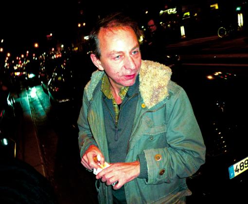 Michel Houellebecq franck chevalier paris