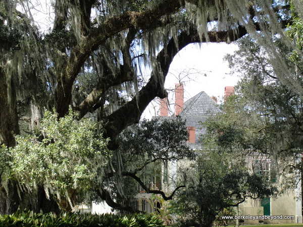 Big House at Destrehan Plantation in Destrehan, Louisiana