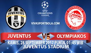 Prediksi Juventus vs Olympiakos 28 September 2017