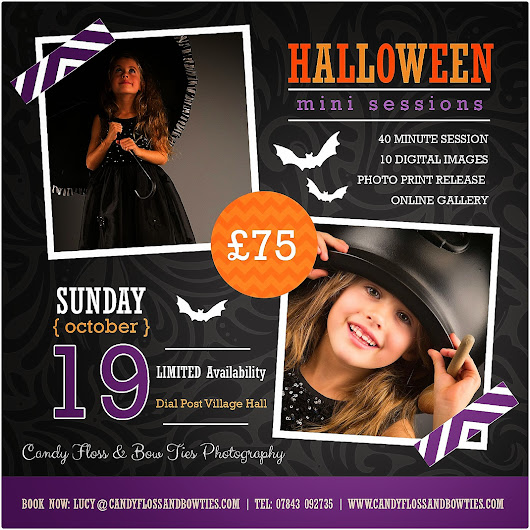 Book Your Halloween Mini-Photo Session Today!