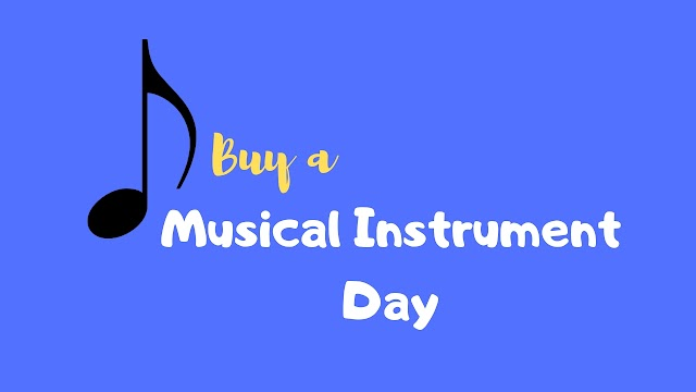 Buy a musical instrument day! May 22 : Instruments for children