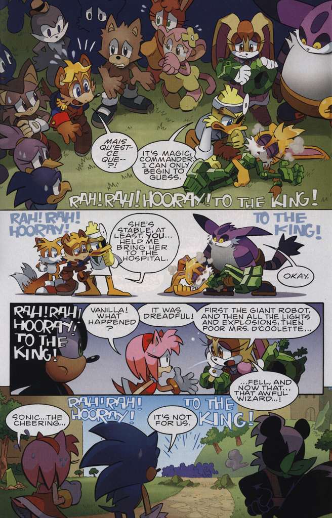 Read online Sonic The Hedgehog comic -  Issue #231 - 23