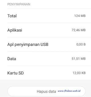 Cara menghapus data whatsapp