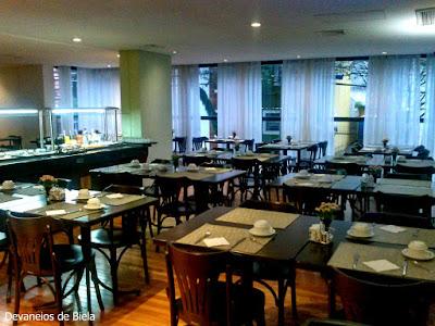 Hotel Slaviero Suítes Curitiba Restaurante