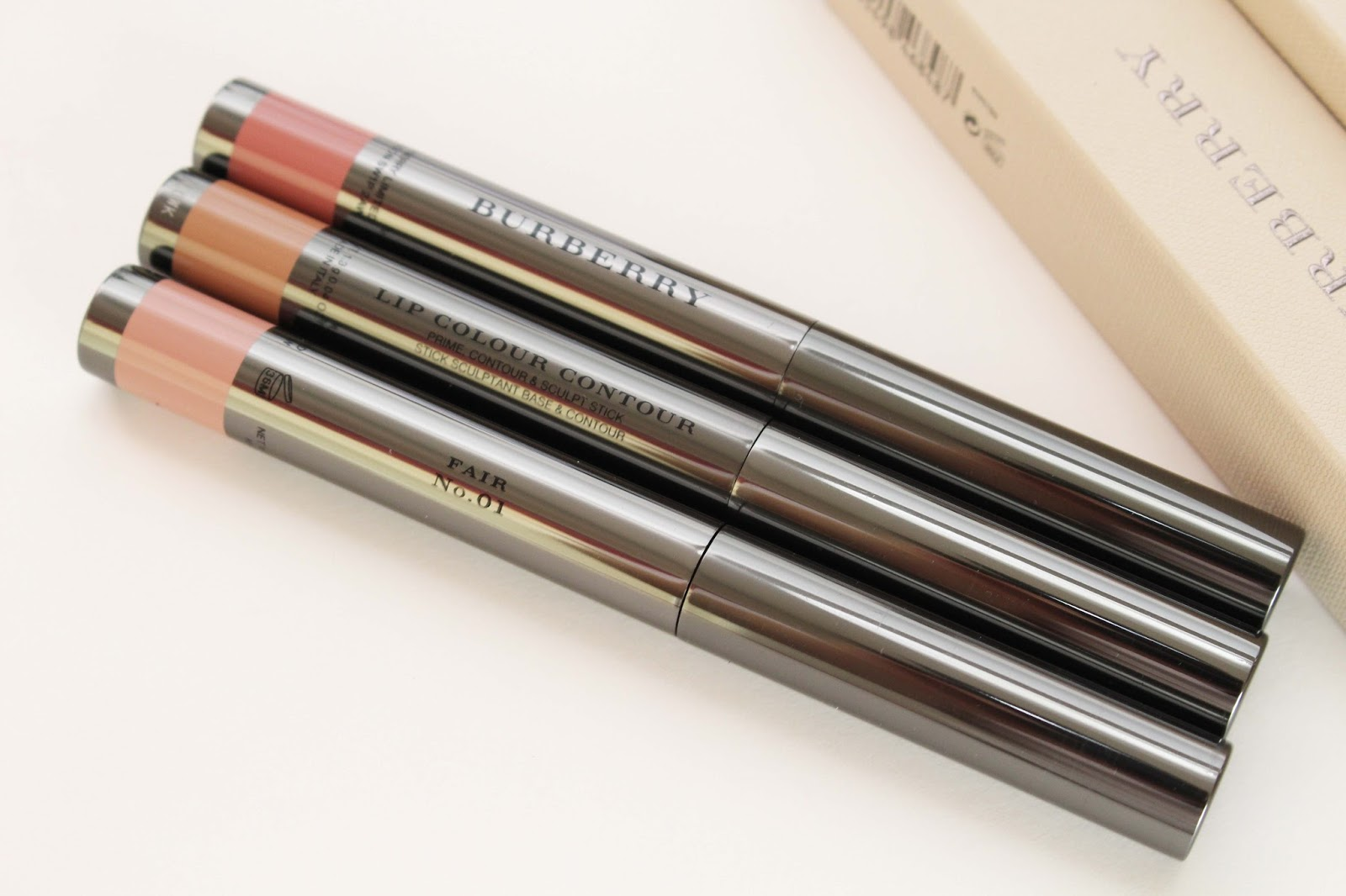 1778622cc656 ... the Burberry Lip Colour Contour on the strength of such fantastic  reviews on the Nordstrom website. First, I ordered Medium No. 3 because in  the swatch ...