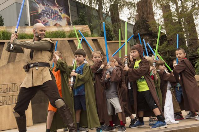 Treinamento Jedi Star Wars no Hollywood Studios em Orlando