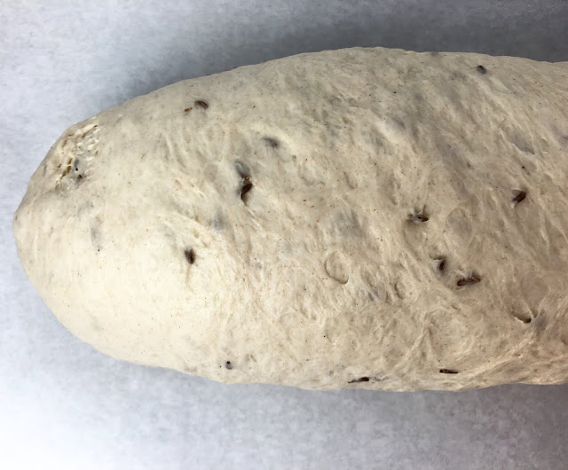 Formed Rye Bread Loaf