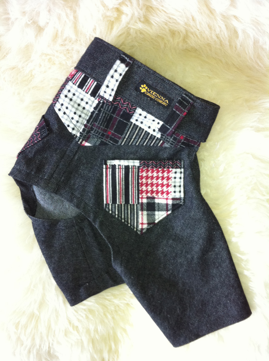 Vienna couture canine the hip hop jeans by la maison for Couture a la maison