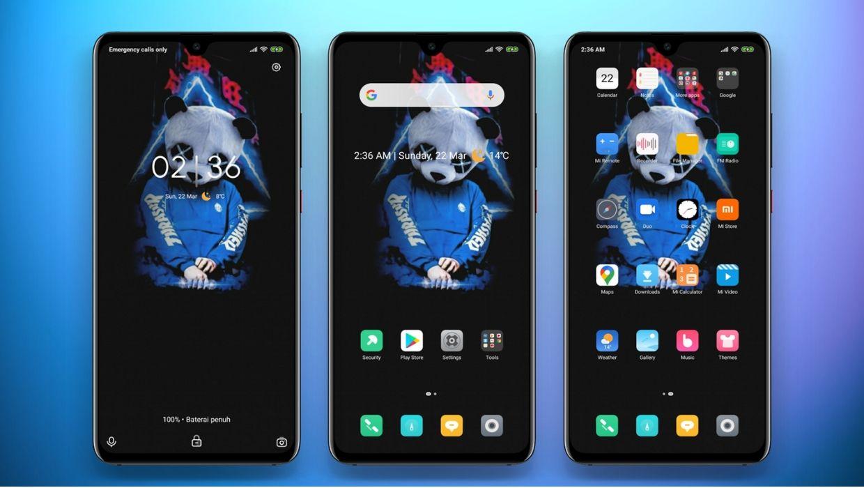 [HERUNTERLADEN] :  Dark Night v11 MIUI Theme |  Ein einfaches Thema für Xiaomi-Geräte
