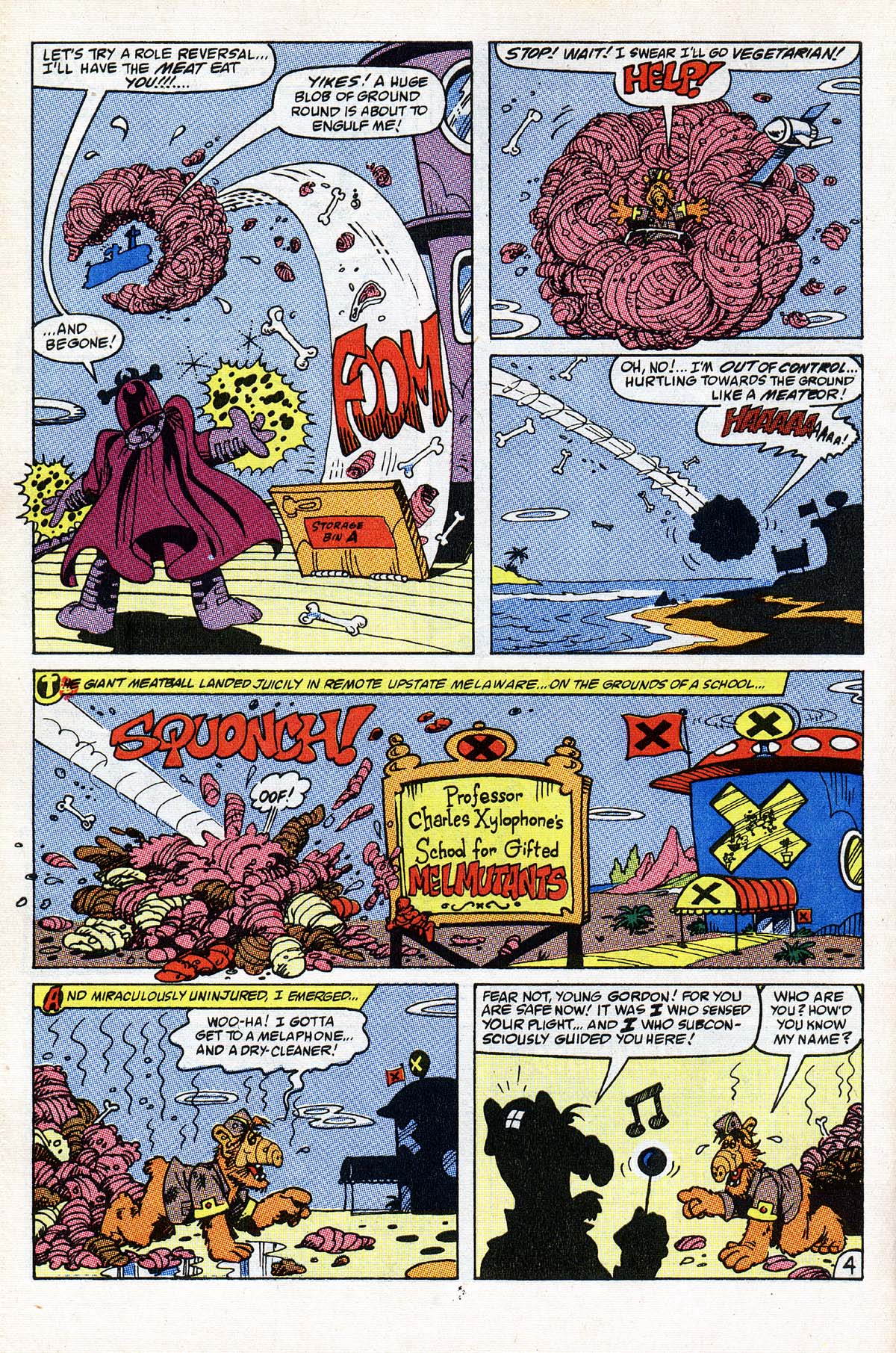 Read online ALF comic -  Issue #22 - 5
