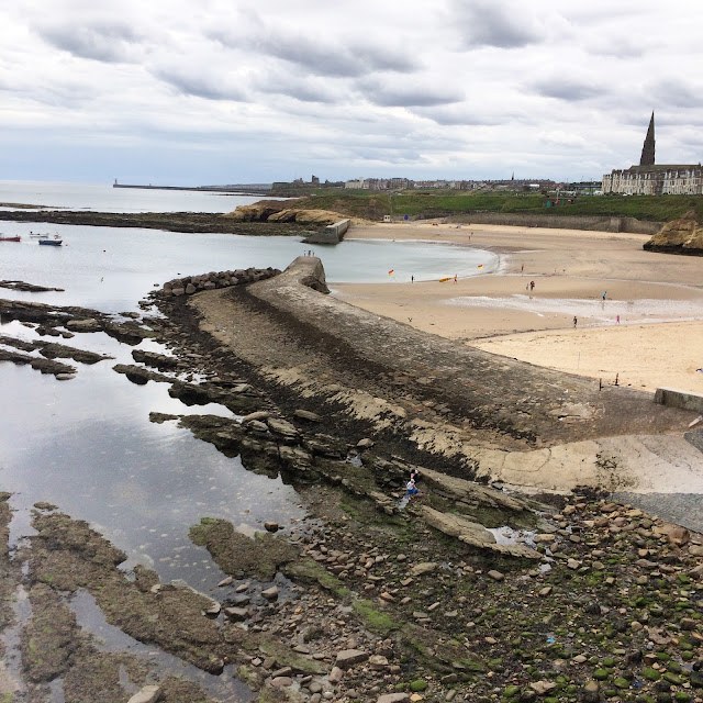 cullercoats beach north tyneside