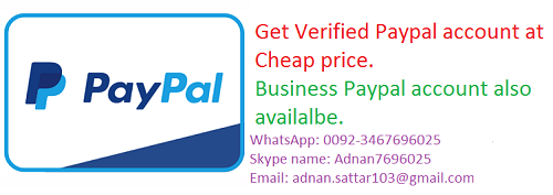 Buy Verified Paypal Account in $10