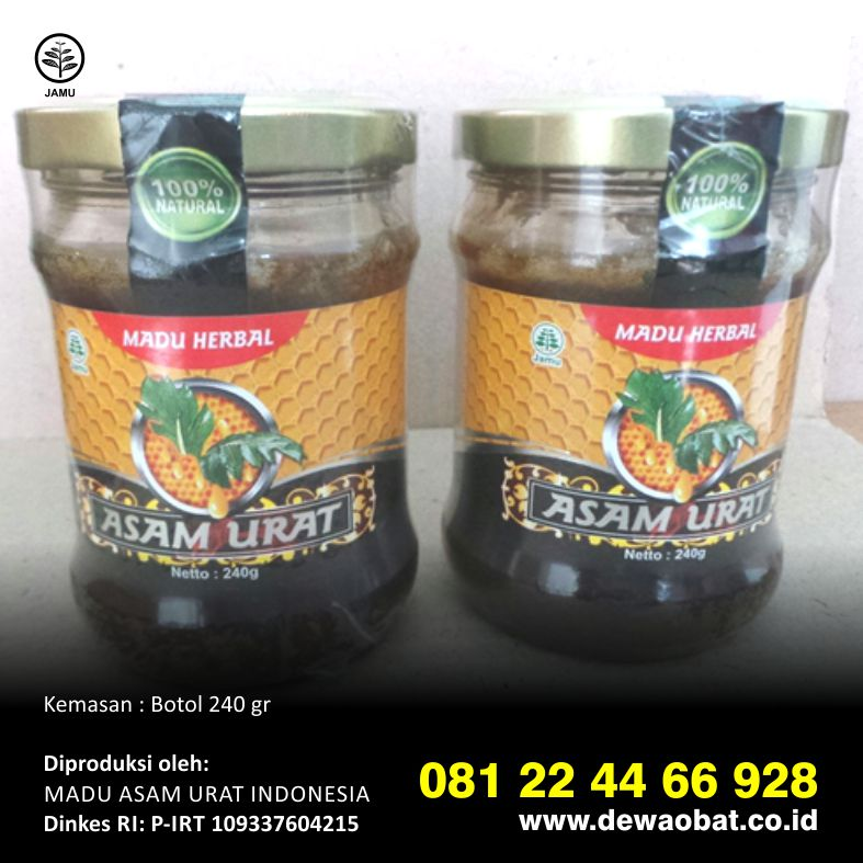 tangkur madu herbal tahan lama madu herbal asam urat