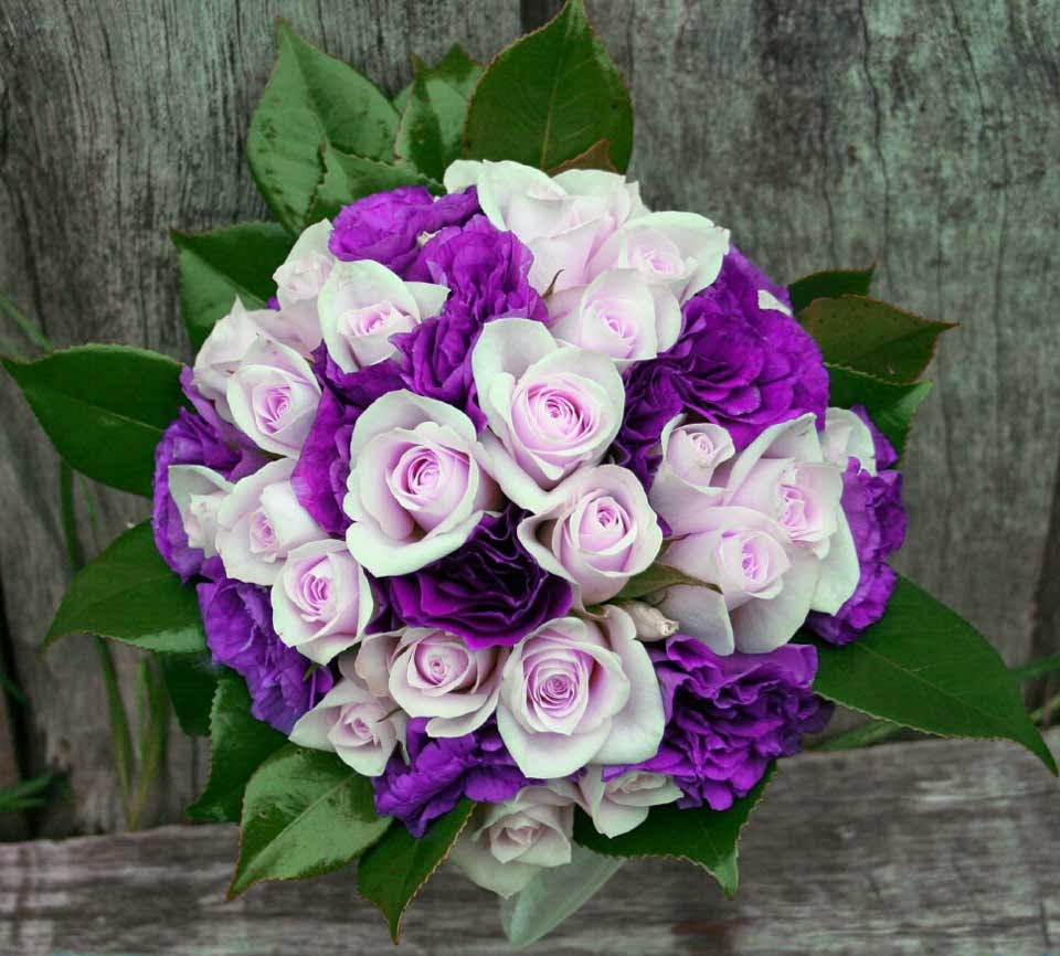 Purple Wedding Flower Decoration Ideas Pictures