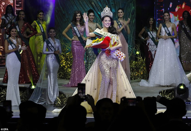23-Year-Old Vietnamese Model Beats 86 Others To Be Crowned Miss Earth