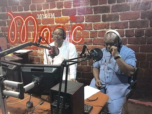 @GovernorIkpeazu celebrates 5 years of MagicFm's unbiased, objective broadcasting.